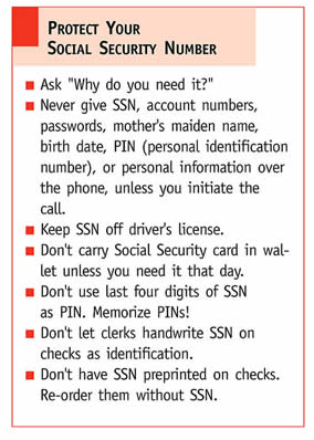 protect your ssn